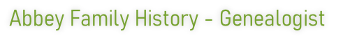 Abbey Family History - Genealogist